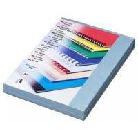 Kartónové desky pro zadní strany Delta A4, 230 g, světle modrá, 100 ks