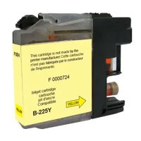 Cartridge Brother LC-225XLY, yellow, UPrint 2