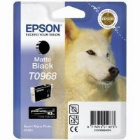 Inkoustová cartridge Epson C13T09684010, Stylus Photo R2880, matná černá, originál