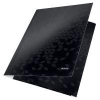 Tříchlopňové desky Leitz WOW A4, černé 2