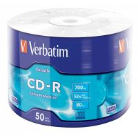 Verbatim CD-R, 43787, DataLife, 50-pack, 700MB, Extra Protection, 52x, 80min.