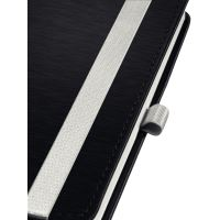 Zápisník Leitz STYLE A5, tvrdé desky, linkovaný, saténově černý 6