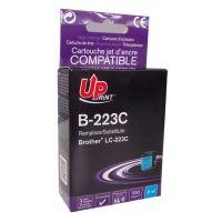 Kompatibilní cartridge Brother LC-223C, MFC-J4420DW, MFC-J4620DW, cyan