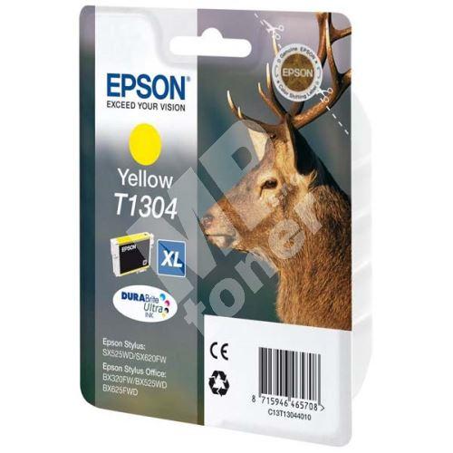 Cartridge Epson C13T13044012, yellow, originál 1