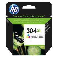 Inkoustová cartridge HP N9K07AE, Deskjet 3720, 3721, 3723, 3730, color, No.304XL, originál