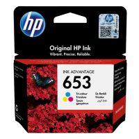 Inkoustová cartridge HP 3YM74AE, DeskJet IA 6000, color, No.653, originál