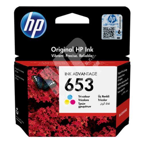 Cartridge HP 3YM74AE, color, No.653, originál 1