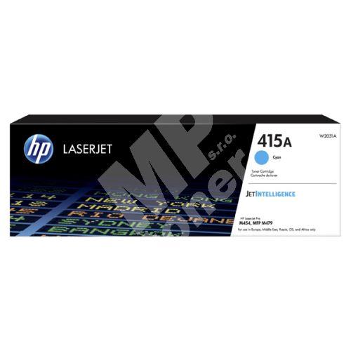 Toner HP W2031A, cyan, 415A, originál 1