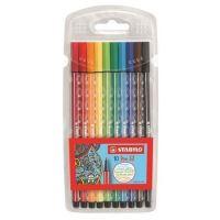 Fixy STABILO Pen 68, 1mm, 10 barev
