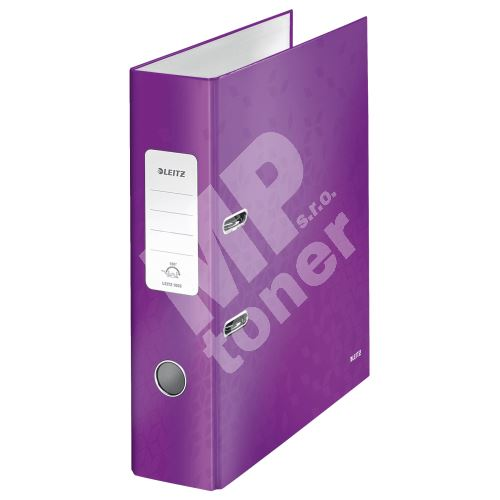 Pákový pořadač 180 Wow, purpurová, lesklý, 80 mm, A4, PP/karton, LEITZ 1