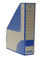 Dokument box Emba 305-230-75, kartonový, modrý