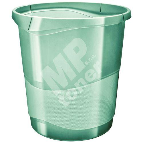 Odpadkový koš Esselte Colour Ice, průhledná zelená, 14 l 1