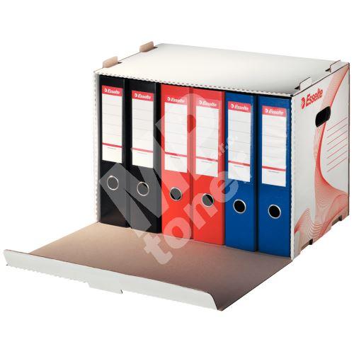 Box archivní Esselte 10964, 6 pořadačů, otevírání zepředu 1