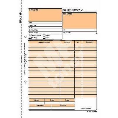 Objednávka A5 NCR na výšku, 100 listů, OP1282 1