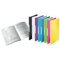 Katalogová kniha Leitz WOW, 20 kapes, černá 4