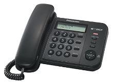 Telefon Panasonic KX-TS 560FXB černý