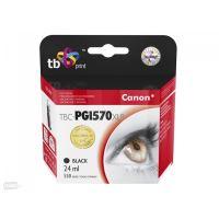 Kompatibilní cartridge Canon PGI-570PGBK XL, Pixma MG5750, MG5751, MG5753, black, TB