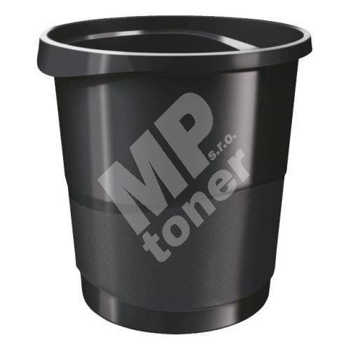 Odpadkový koš Esselte Europost VIVIDA, černý 1