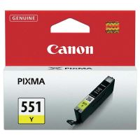 Inkoustová cartridge Canon CLI-551Y, iP7250, MG5450, MG6350, yellow, 6511B001, originál