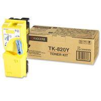 Toner Kyocera Mita TK-820Y, FS-C8100DN, yellow, originál