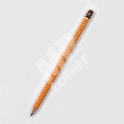 Grafitová tužka 1500, 6B, šestihranná, Koh-i-noor 1