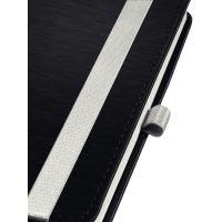 Zápisník Leitz STYLE A6, tvrdé desky, linkovaný, saténově černý 6