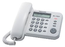 Telefon Panasonic KX-TS 560FXW bílý