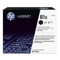Toner HP CF281X, LaserJet Enterprise Flow M630z, M630dn, M630f, black, 81X, originál