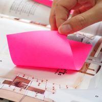 Samolepicí bloček Stick n neonově růžový, 76 x 127 mm 4