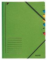 Třídící desky Leitz s gumičkou, 7 přihrádkové 3
