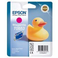 Inkoustová cartridge Epson C13T055340, Stylus Photo RX425, magenta, originál