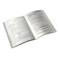 Katalogová kniha Leitz STYLE, 20 kapes, granátově červená 3