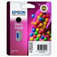 Inkoustová cartridge Epson C13T028401 černá, originál