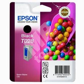 Cartridge Epson C13T028401, originál 1