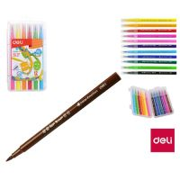 Fixy Deli Color Emotion štětečkový 12 barev