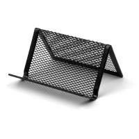 Drátěný stojánek na vizitky DKC1406 černý, vizitkář