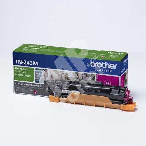Toner Brother TN-243M, DCP-L3500, MFC-L3730, MFC-L3740, magenta, originál