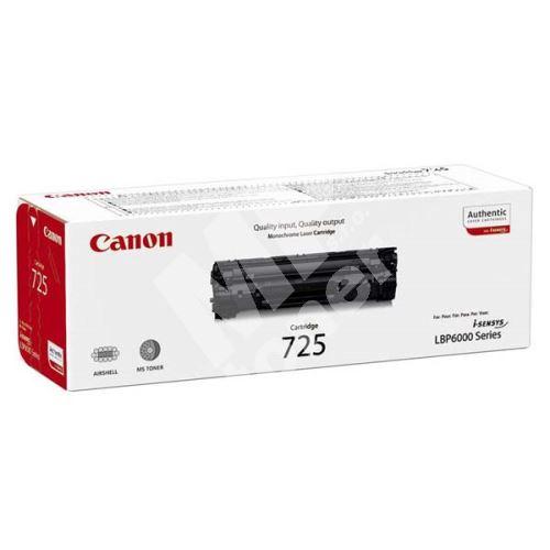 Toner Canon CRG-725, 3484B002, black, originál 1