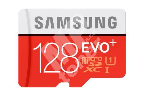 Samsung 128GB, micro SDHC, EVO PLUS + adaptér 1