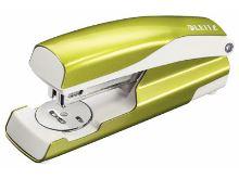 Stolní sešívač Leitz NeXXt WOW 5502, metalický zelený