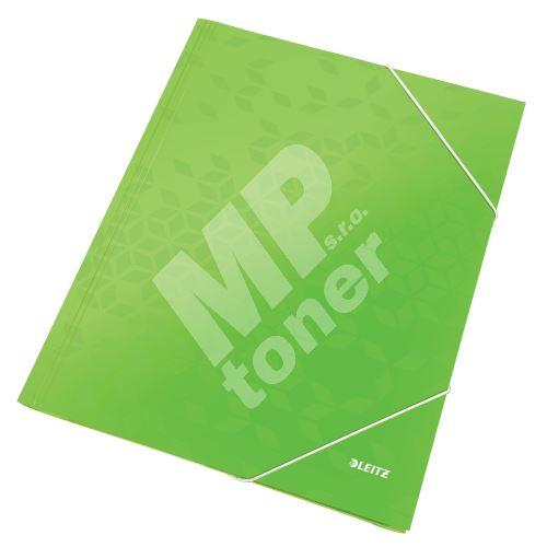 Tříchlopňové desky Leitz WOW A4, zelené 1