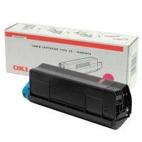 Toner OKI 42127406 C5100 5200 5300 5400 typ C6 červený originál