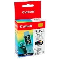 Inkoustová cartridge Canon BCI-21C, color, originál