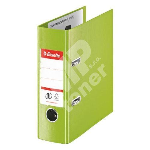 Pákový pořadač Esselte No. 1 Power z PVC A5 75 mm VIVIDA, zelený 1