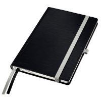 Zápisník A5 Leitz STYLE, linkovaný, saténově černý