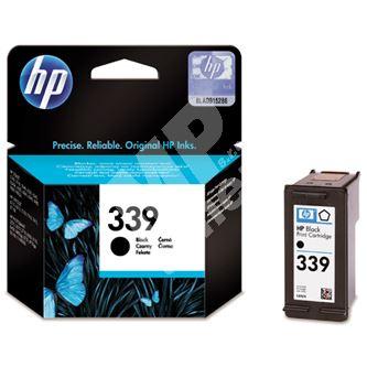Inkoustová cartridge HP C8767EE, black, No. 339, originál