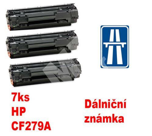 7ks kompatibilní toner HP CF279A MP print + dálniční známka 1