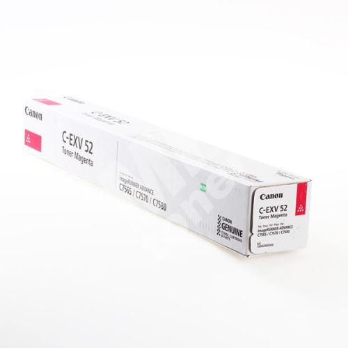 Toner Canon CEXV52, magenta, 1000C002, originál 1