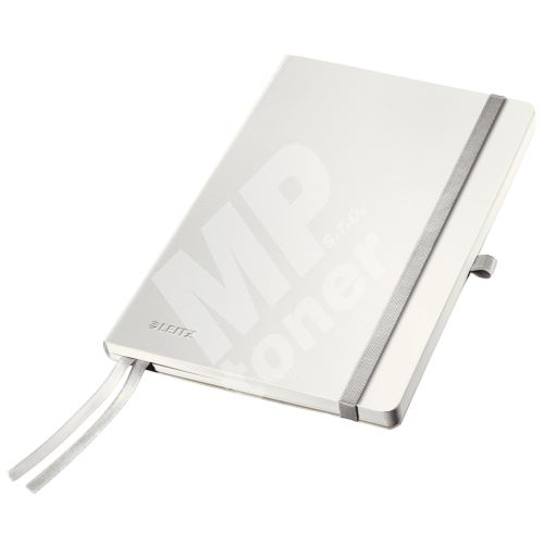 Zápisník Leitz STYLE A5, měkké desky, čtverečkovaný, arkticky bílý 1