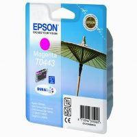 Inkoustová cartridge Epson T044340 červená, Stylus C84, C64, C66, C86, CX6400, originál